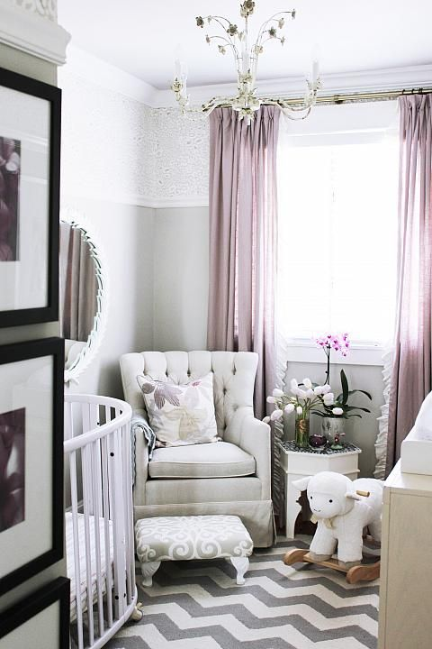 31 Cutest And Most Chic Girl Nursery Designs To Get