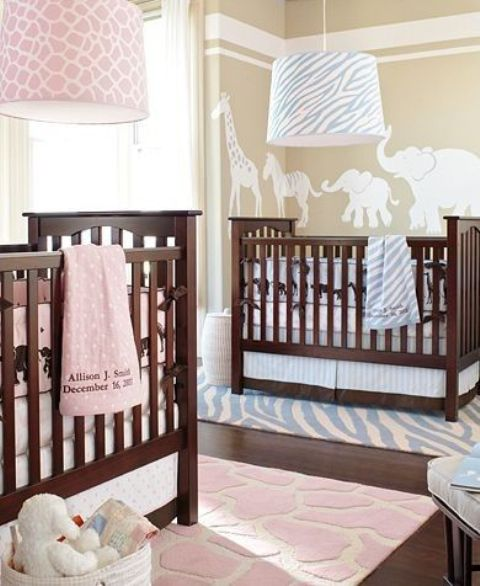 11 Cool Baby Nursery Design Ideas From Vertbaudet: 30 Cutest Shared Nurseries For Boys And Girls