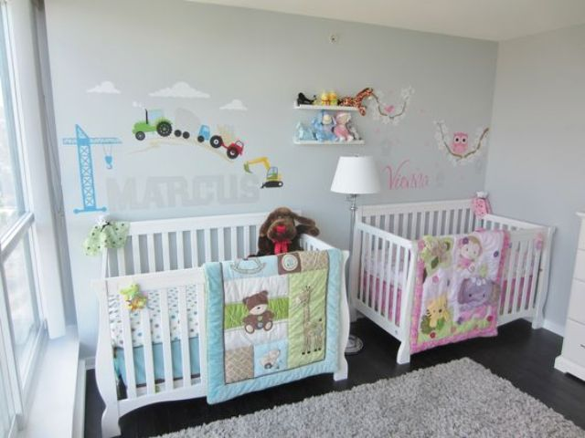 Cutest Shared Nurseries For Boys And Girls