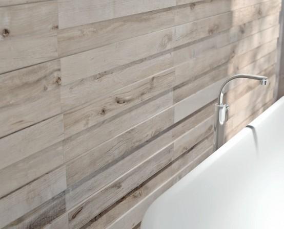 Dakota Ceramic Tiles That Replicate Aged Wood