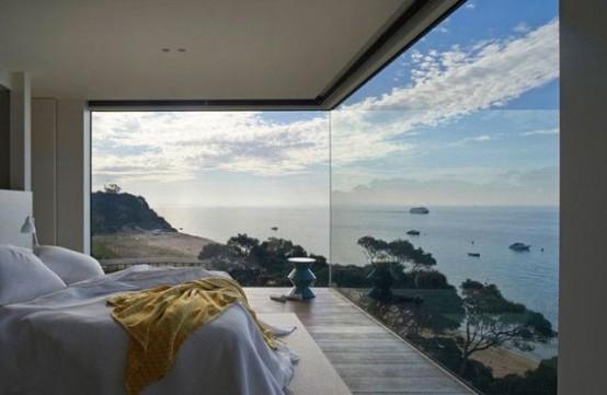 daring glass bedroom design ideas - Bedroom Design Ideas Images