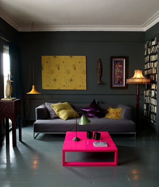 Dark And Moody Apartment Interior Design
