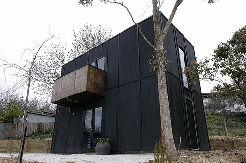 Dark Moody House By Simon Carver