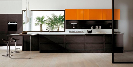 dark oak orange gloss terra