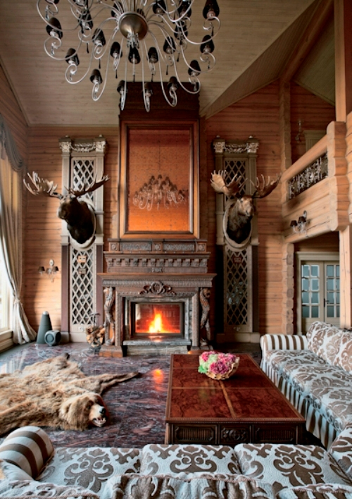 Unusual Wooden Villa Of A Hunting Fan