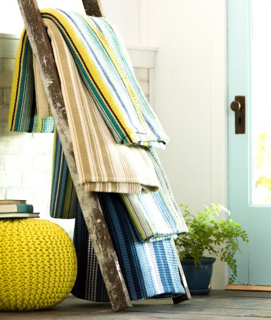 36 Décor Ideas With Ladders: Vintage Charm With Space