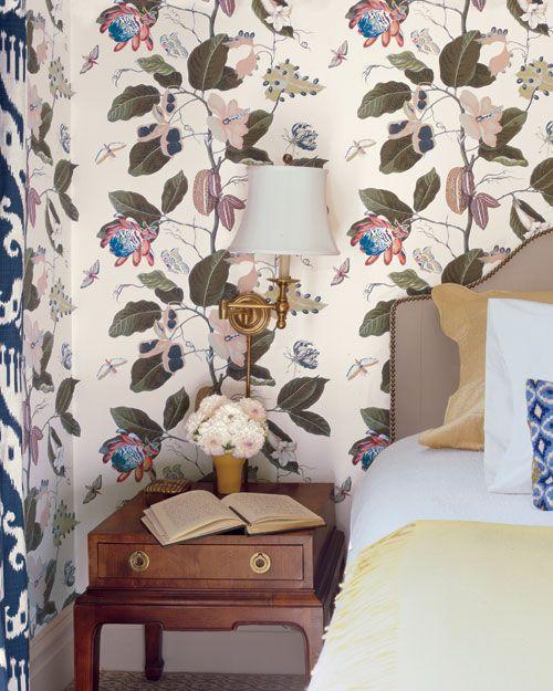 Decorating With Botanical Wallpaper Beautiful Ideas