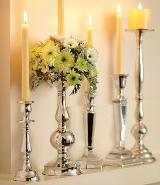 16 Ideas For Decorating Your Hanukkah With Candles Digsdigs
