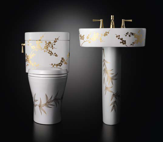 Decorative Luxury Toilets and Washstands – Miyabi from TOTO