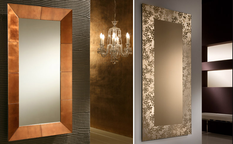 decorative wall mirrors large