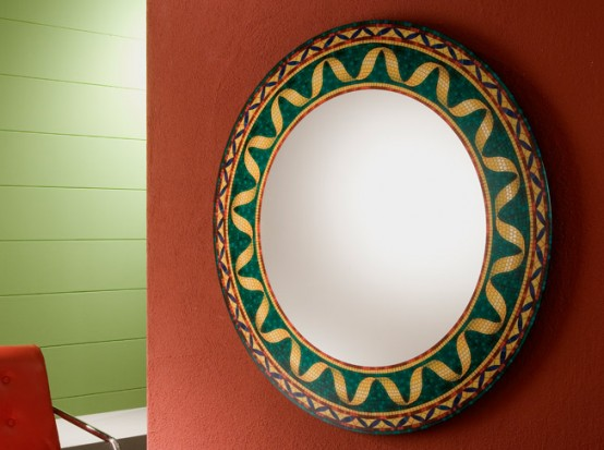 Vintage Decorative Wall Mirrors By Rifleshi