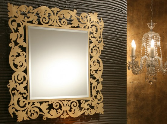 Lovely Decorative Wall Mirrors By Rifleshi