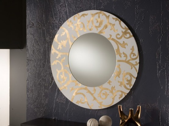 Simple Decorative Wall Mirrors By Rifleshi