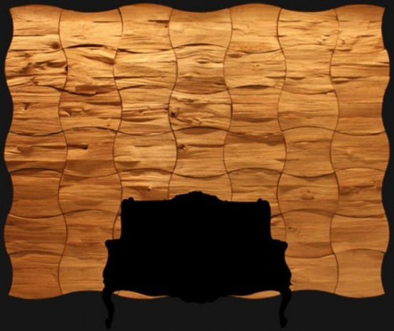 decorative wood wall panels Archives - DigsDigs