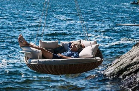 Dedon Swingrest Hanging Lounger For Luxurious Rest