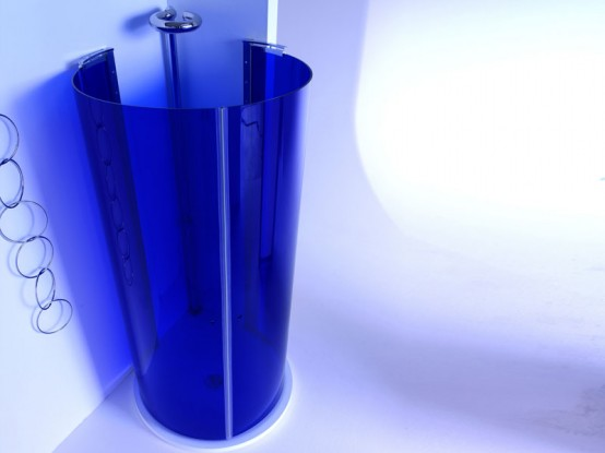 Degree Blue Shower Box