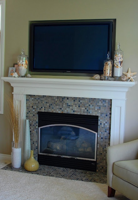55 Delicate And Beautiful Beach Inspired Mantels Digsdigs