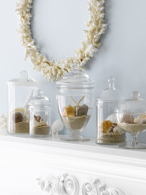 55 Delicate And Beautiful Beach-Inspired Mantels