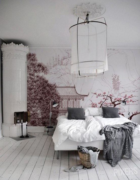 30 Delicate Cherry Blossom Décor Ideas For Spring - DigsDigs