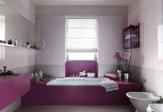 Delicate Feminine Bathrooms