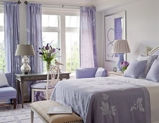 Purple Bedroom Ideas With Various Shades You Can Choose: 39 Delicate Home Décor Ideas With Lavender Color