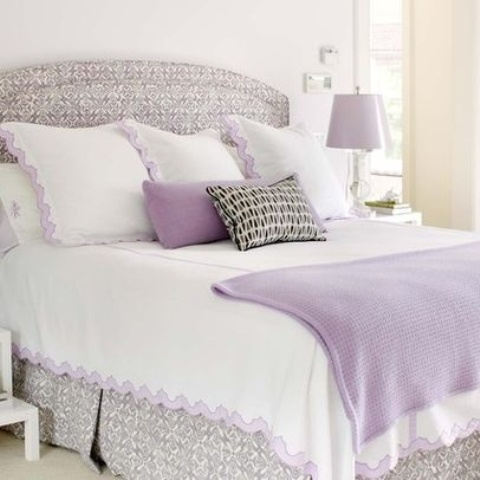 Delicate Home Decor Ideas With Lavender