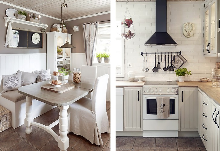 Delicate Rustic House In An Elegant Color Scheme  DigsDigs