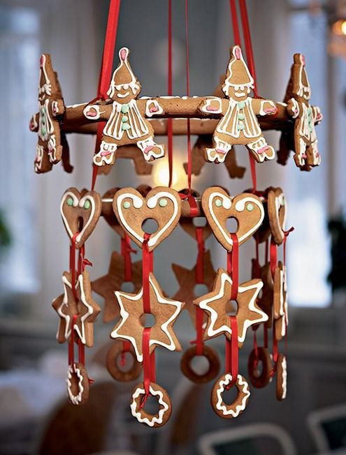 Delicious Gingerbread Christmas Home Decorations