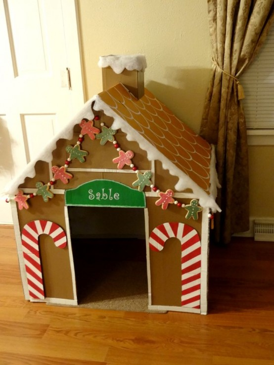 Cute Gingerbread House Decorating Ideas