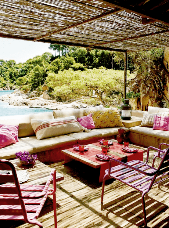 Delightful Mediterranean Outdoor Areas