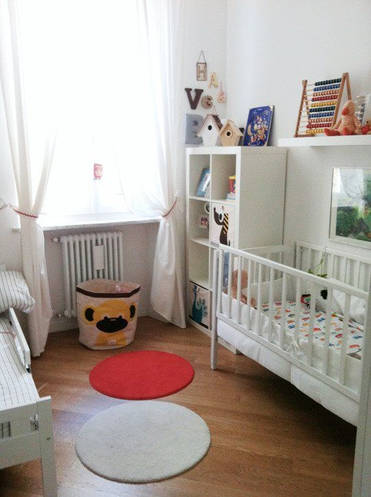 Delightful Shared Nurseries For A Baby And A Toddler