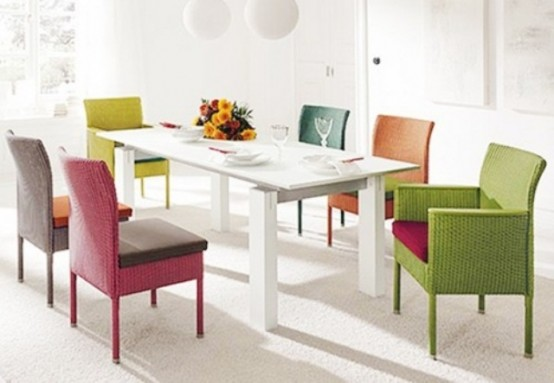 Dining Rooms Inspired By Spring Itself