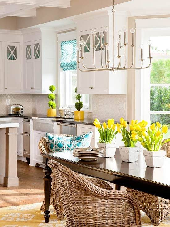 30 Dining Room Decor Ideas Inspired By Spring Itself