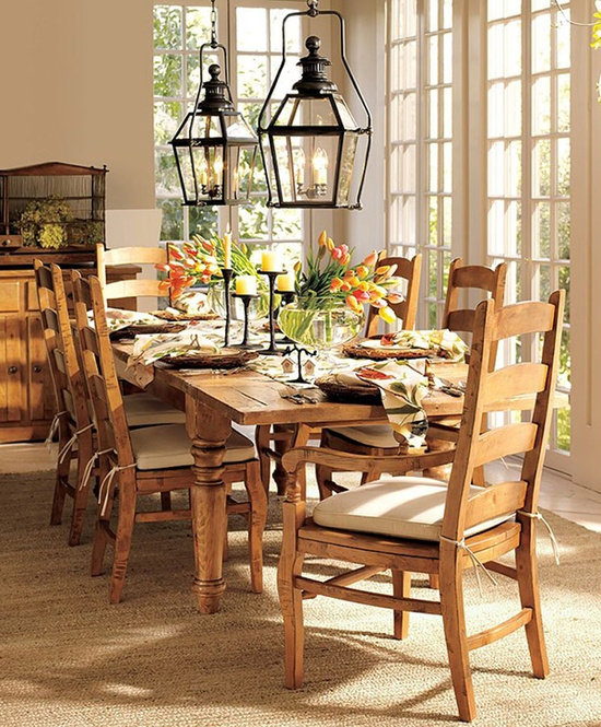 Country Dining Room Decor Ideas casual dining rooms decorating ideas for a soothing interior