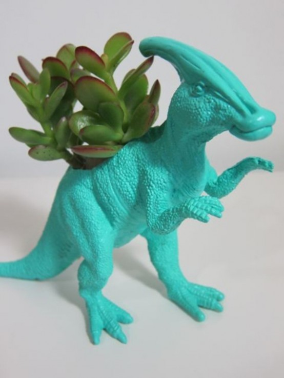 Dinosaur Planters For Kids' Rooms