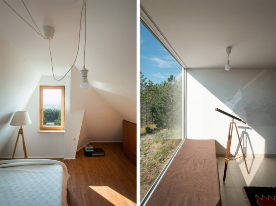 Divcibare House Consisting Of Two Different Volumes