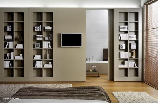 Dividing Wall Storage Units