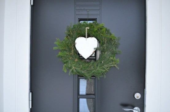 Cool DIY Christmas Wreaths With Nordic Touch