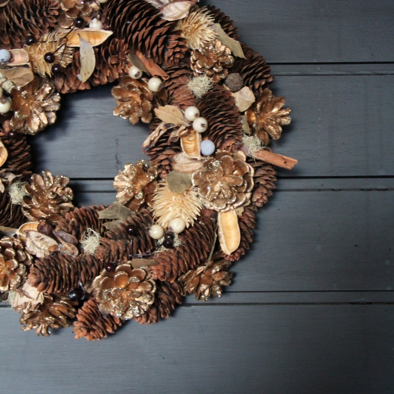 Cool Diy Christmas Wreaths With Nordic Touch Digsdigs