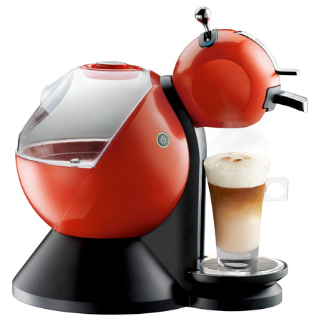 Red, Black and Creme Nescafe Dolce Gustos