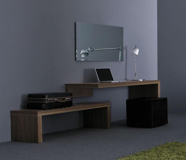 Domino Wooden Desk