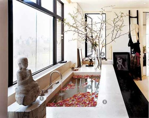 Donna Karan's Bathroom