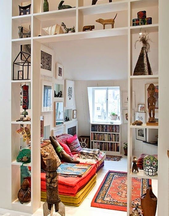 27 doorway wall storage solutions for small spaces digsdigs for Room divider ideas for small spaces