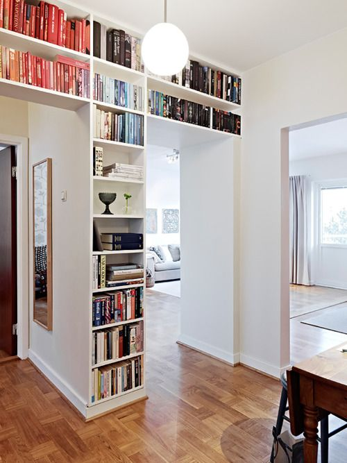 Doorway Wall Storage Solutions For Small Spaces