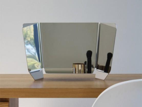 Dorian Mirror Of A Polished Steel Sheet
