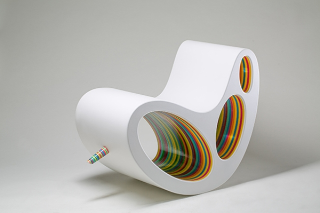 Dp Chair Ultra Modern Take On A Lounge And A Rocker