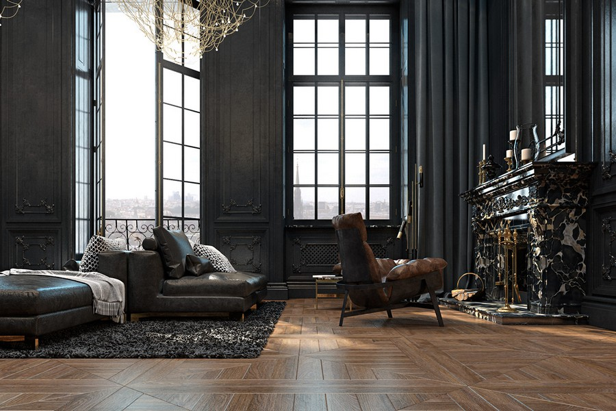 Dramatic And Refined Historical Apartment In Paris