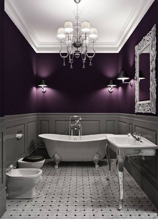 22 Dramatic Gothic Bathroom Designs Ideas - DigsDigs