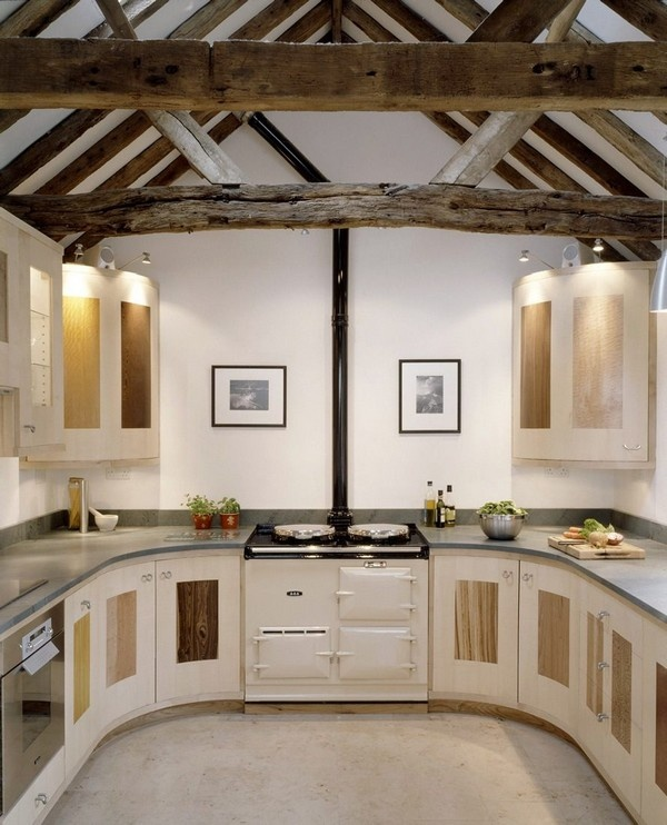 Picture of dream barn kitchen design for Dream kitchen designs