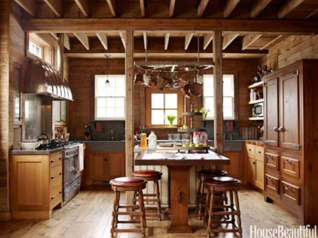 39 Dream Barn Kitchen Designs | DigsDigs on Rustic:fkvt0Ptafus= Farmhouse Kitchen Ideas  id=72789